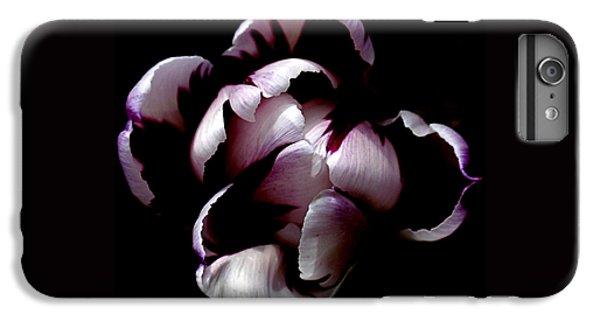Floral Symmetry IPhone 6s Plus Case by Rona Black