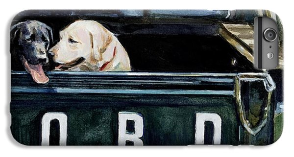 For Our Retriever Dogs IPhone 6s Plus Case by Molly Poole