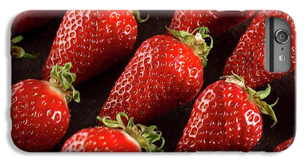 Gariguette Strawberries IPhone 6s Plus Case by Aberration Films Ltd