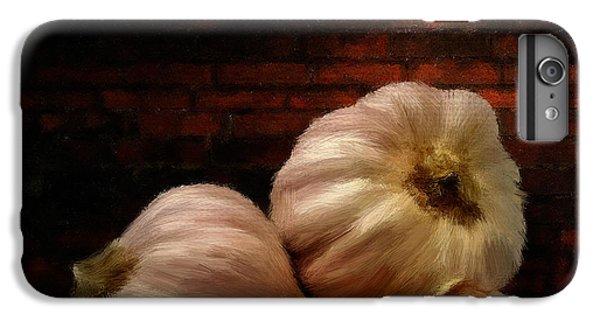 Garlic IPhone 6s Plus Case by Lourry Legarde