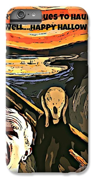 Ghosts Of The Past IPhone 6s Plus Case by John Malone