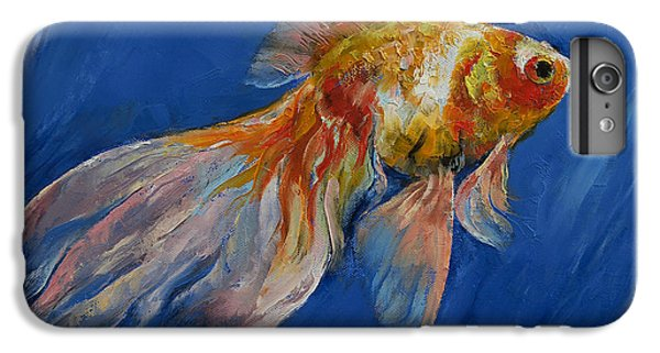 Goldfish IPhone 6s Plus Case by Michael Creese