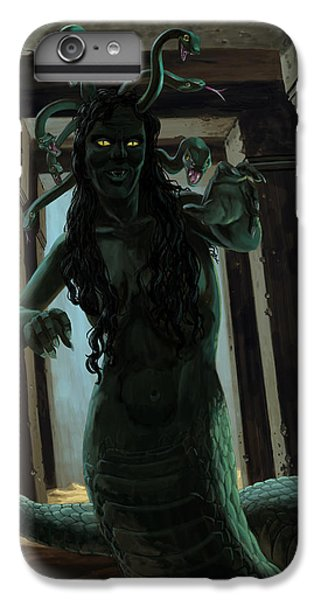 Gorgon Medusa IPhone 6s Plus Case by Martin Davey