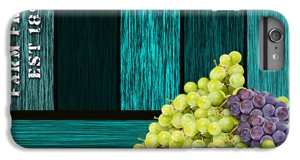 Grape Sign IPhone 6s Plus Case by Marvin Blaine
