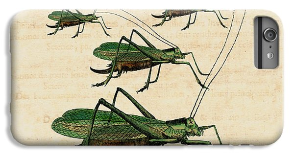 Grasshopper Parade IPhone 6s Plus Case by Antique Images