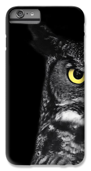 Great Horned Owl Photo IPhone 6s Plus Case by Stephanie McDowell