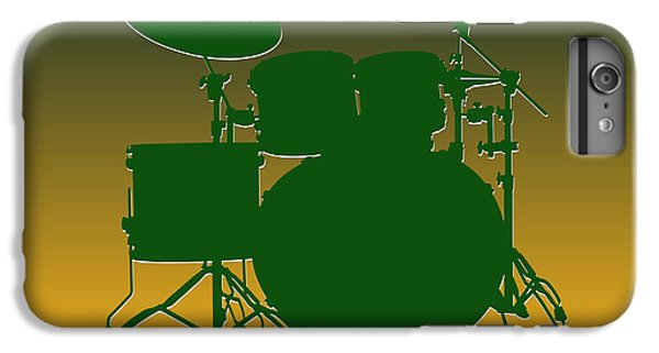 Green Bay Packers Drum Set IPhone 6s Plus Case by Joe Hamilton