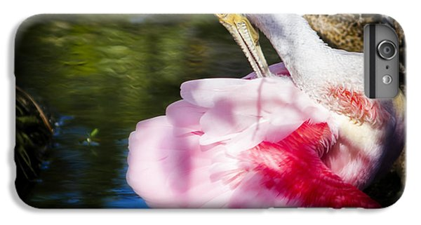 Preening Spoonbill IPhone 6s Plus Case by Mark Andrew Thomas