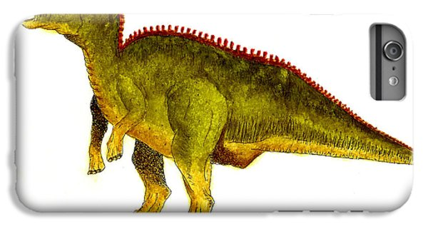 Hadrosaurus IPhone 6s Plus Case by Michael Vigliotti