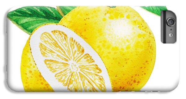 Happy Grapefruit- Irina Sztukowski IPhone 6s Plus Case by Irina Sztukowski