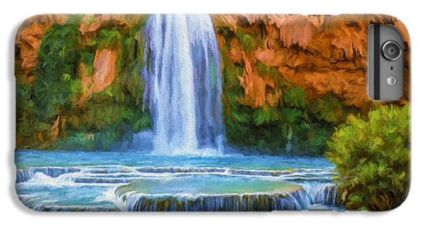Havasu Falls IPhone 6s Plus Case by David Wagner