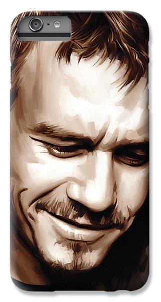 Heath Ledger Artwork IPhone 6s Plus Case by Sheraz A
