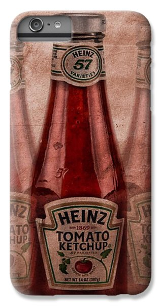 Heinz Tomato Ketchup IPhone 6s Plus Case by Dan Sproul