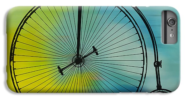 High Wheel Bicycle IPhone 6s Plus Case by Marvin Blaine