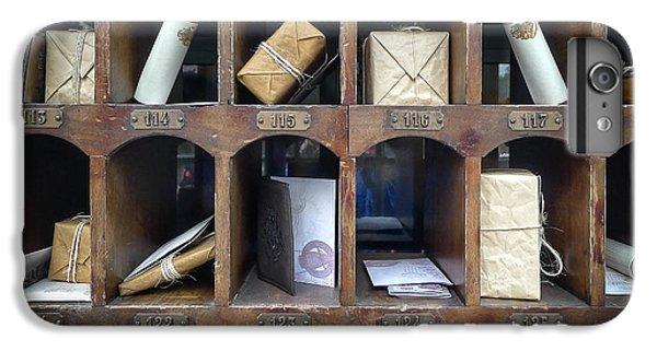 Hogsmeade Owl Post Office IPhone 6s Plus Case by Edward Fielding