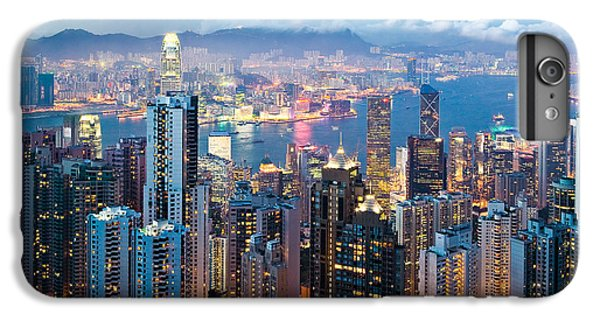 Hong Kong At Dusk IPhone 6s Plus Case by Dave Bowman