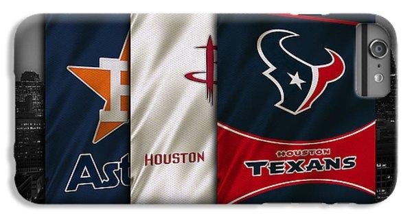 Houston Sports Teams IPhone 6s Plus Case by Joe Hamilton