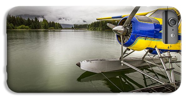 Idle Float Plane At Juneau Airport IPhone 6s Plus Case by Darcy Michaelchuk