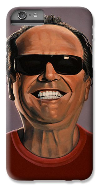 Jack Nicholson 2 IPhone 6s Plus Case by Paul Meijering