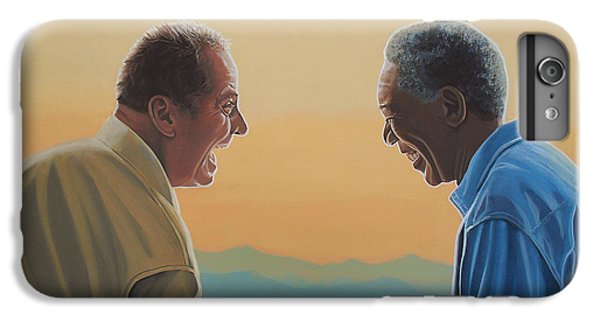 Jack Nicholson And Morgan Freeman IPhone 6s Plus Case by Paul Meijering
