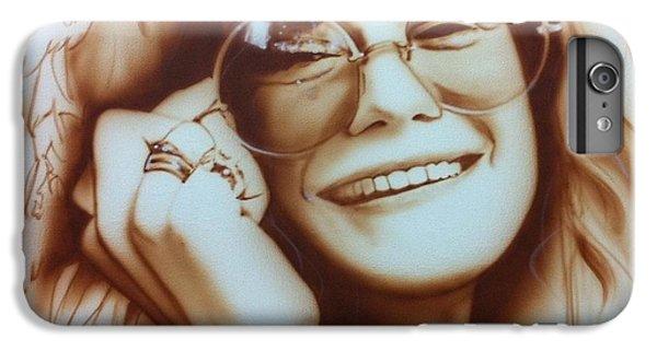Janis Joplin - ' Janis ' IPhone 6s Plus Case by Christian Chapman Art