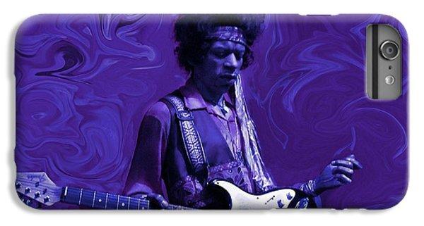 Jimi Hendrix Purple Haze IPhone 6s Plus Case by David Dehner