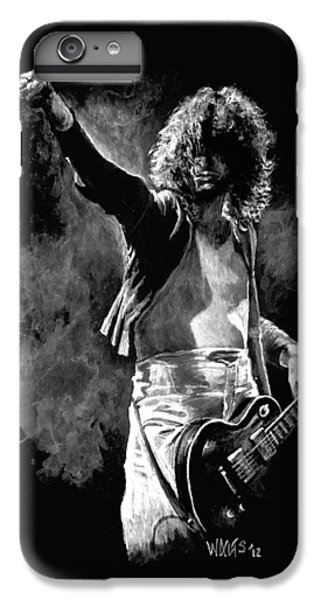 Jimmy Page IPhone 6s Plus Case by William Walts