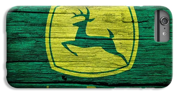 John Deere Barn Door IPhone 6s Plus Case by Dan Sproul