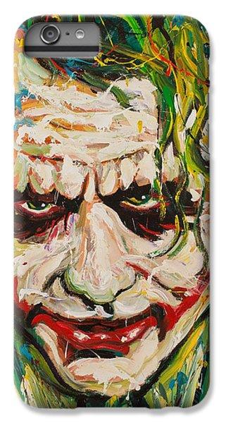 Joker IPhone 6s Plus Case by Michael Wardle