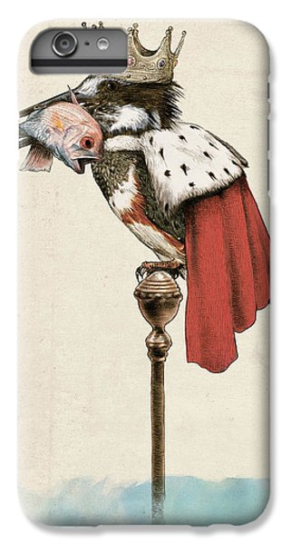 Kingfisher IPhone 6s Plus Case by Eric Fan
