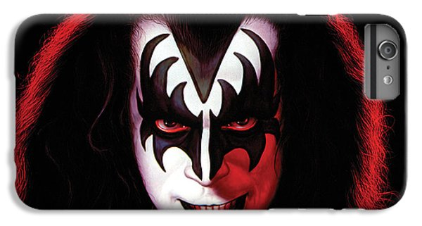 Kiss - Gene Simmons IPhone 6s Plus Case by Epic Rights