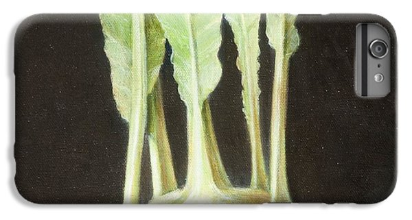 Kohl Rabi, 2012 Acrylic On Canvas IPhone 6s Plus Case by Lincoln Seligman