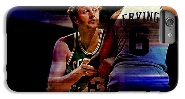 Larry Bird IPhone 6s Plus Case by Marvin Blaine