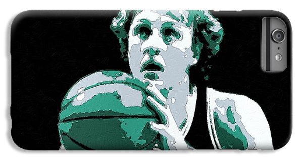 Larry Bird Poster Art IPhone 6s Plus Case by Florian Rodarte