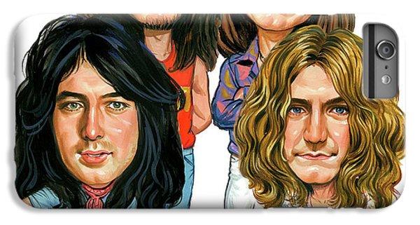 Led Zeppelin IPhone 6s Plus Case by Art