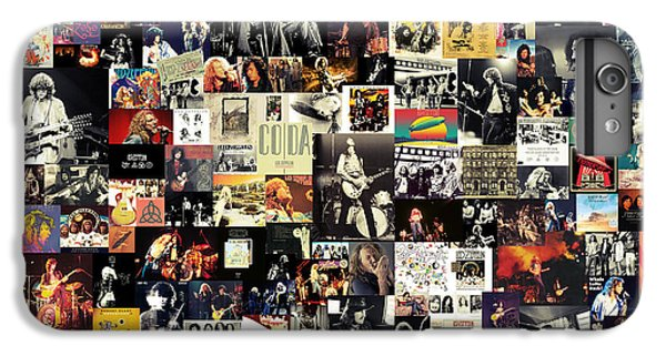 Led Zeppelin Collage IPhone 6s Plus Case by Taylan Soyturk
