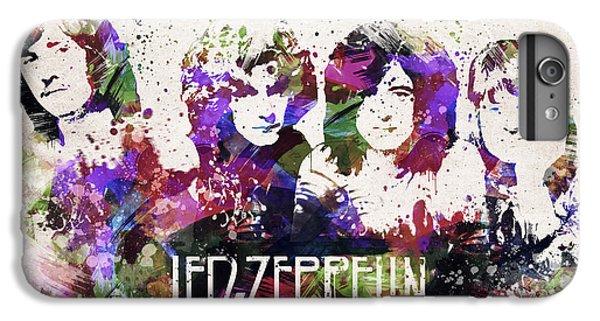Led Zeppelin Portrait IPhone 6s Plus Case by Aged Pixel