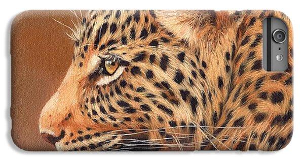 Leopard Portrait IPhone 6s Plus Case by David Stribbling