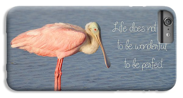 Life Wonderful And Perfect IPhone 6s Plus Case by Kim Hojnacki
