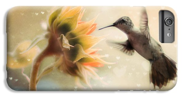 Like A Moth To A Flame IPhone 6s Plus Case by Amy Tyler