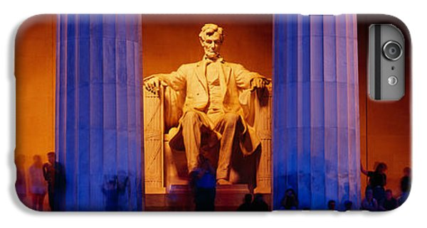 Lincoln Memorial, Washington Dc IPhone 6s Plus Case by Panoramic Images