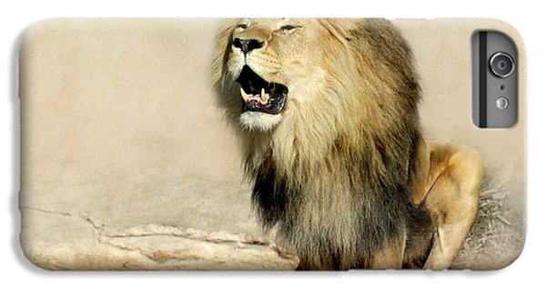 Lion IPhone 6s Plus Case by Heike Hultsch