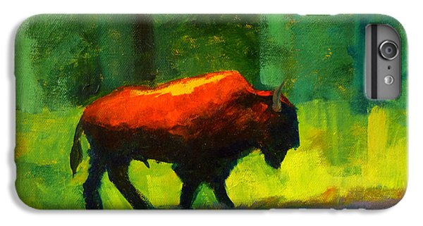 Lumbering IPhone 6s Plus Case by Nancy Merkle