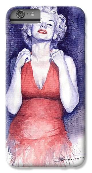 Marilyn Monroe IPhone 6s Plus Case by Yuriy  Shevchuk