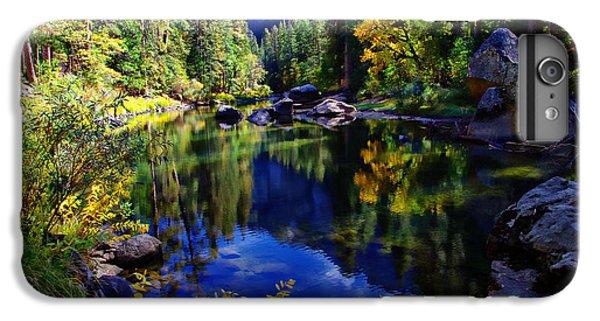 Merced River Yosemite National Park IPhone 6s Plus Case by Scott McGuire