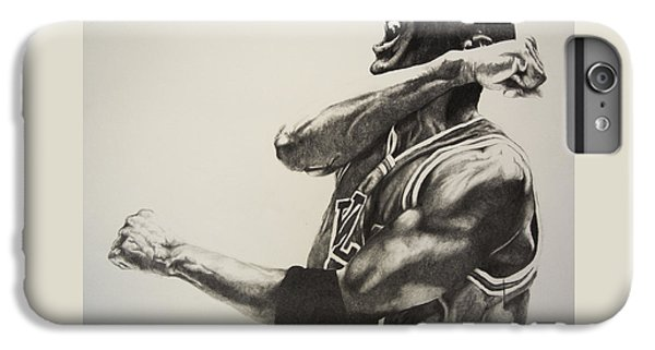 Michael Jordan IPhone 6s Plus Case by Jake Stapleton