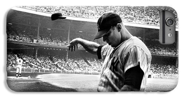 Mickey Mantle IPhone 6s Plus Case by Gianfranco Weiss