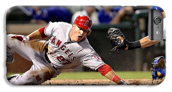 Mike Trout IPhone 6s Plus Case by Marvin Blaine