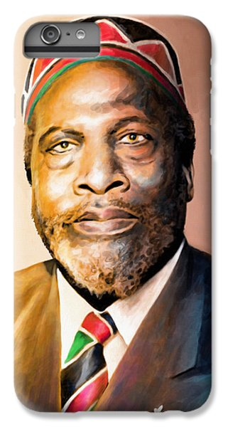 Mzee Jomo Kenyatta IPhone 6s Plus Case by Anthony Mwangi