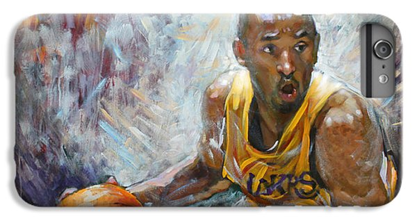 Nba Lakers Kobe Black Mamba IPhone 6s Plus Case by Ylli Haruni